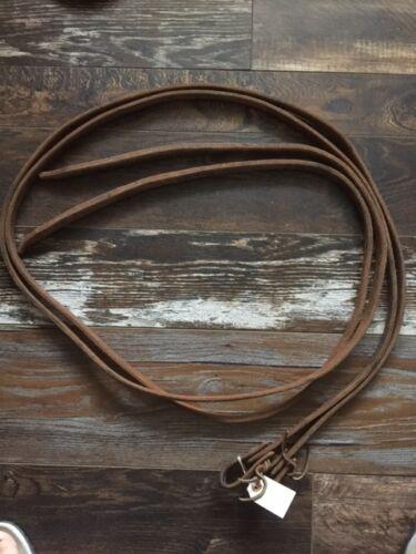 Used Heavy Leather Split Reins