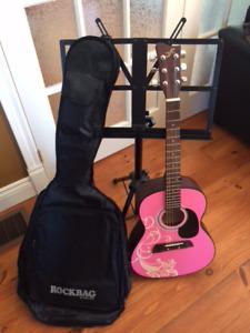 Ensemble guitare sèche 3 morceaux