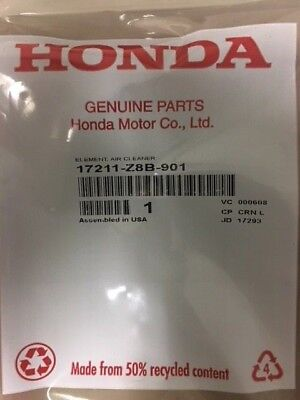 Honda Part # 17211-Z8B-901 Element air Cleaner