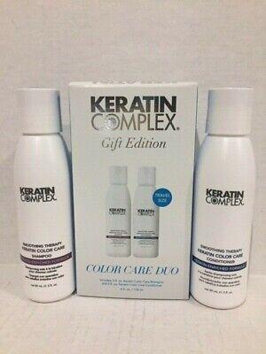 Keratin Complex Keratin Care ( Keratin Complex Keratin Color Care Duo - Shampoo and Conditioner 3 ounces/ea)