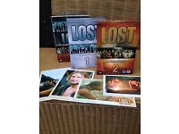 Rare Limited Edition *LOST DVD BOX SET* Series 1 & 2 With Art Work Postcards