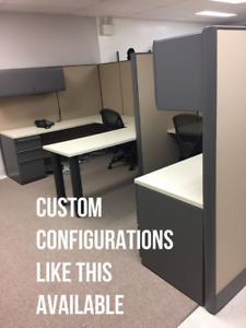 USED CUBICLES IN EXCELLENT CONDITION,  DELIVERY/INSTALLATION