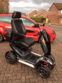 TGA Vita 4 Sport Mobility Scooter **119 miles milage**