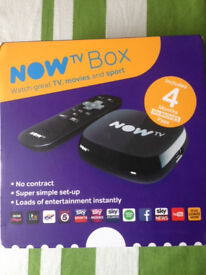 NOW TV box with Movies pass