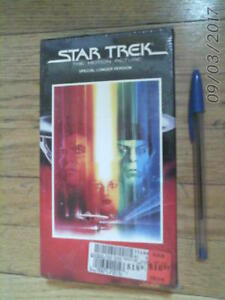 sealed VHS Tape - STAR TREK the Motion Picture 1991