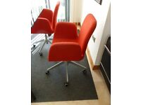 Office/Occasional side chairs( x2)