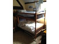 Sturdy Bunk Bed in excellent condition