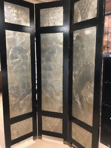 Three Panel Partition Screen