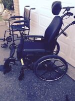 New and gently used wheelchairs & electric operated bed