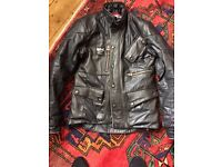 Barbour Mens Motorcycle jacket small/Med