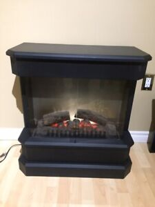 Dimplex electric fireplace with remote control