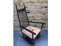 Vintage Retro 60's Danish Style Rocking Chair Rocker