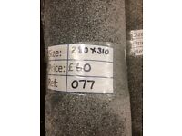Lugano Grey Carpet Remnant (2.80 x 3.10m) for £50 - REF: 077