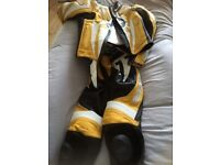 BARGAIN!!!New set of Two Piece Leathers