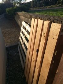 4 Wooden Pallets FREE
