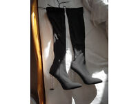 Over the Knee Boots, only worn once