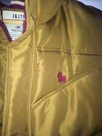 Jack & Jones Gilet, Size L, Gold, Worn one or twice but in very good condition