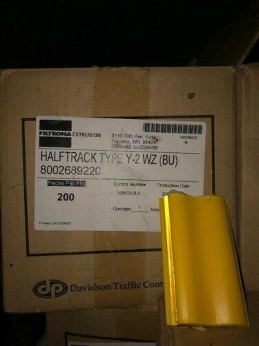 200 Halftrack Temporary RPM with Butyl Adhesive, YELLOW 2-Way 8002689220