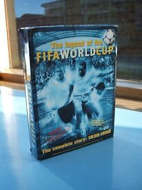 Football DVD Box Set Legend of the World Cup Story 1930-1998(4 discs) + European Football Masters 1