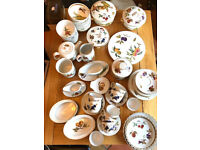 Assortment of Royal Worcester Gold Tableware