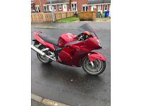 2004 Honda blackbird £1695