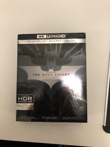 Dark Knight Trilogy Collection 4K like new