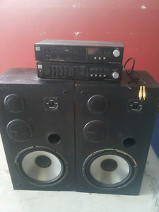 Fisher stereo system.