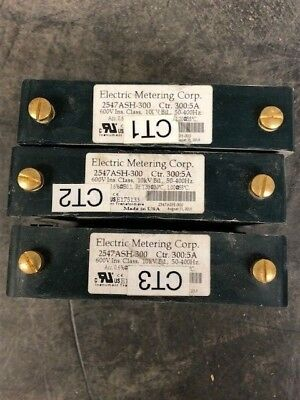 Electric Metering 2547ash-300 Control Transformers 3005 2.5 D Lot Of 3