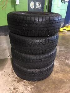 4-P 185/65/14 Michelin X-ICE winter tires- INSTALLATION INCLUDED