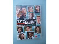 DVD (6 Disc) Box Set Grey's Anatomy Ninth season 9 Doctor Hospital Region 2