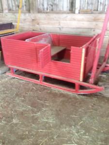 Horse Carts & Sleigh