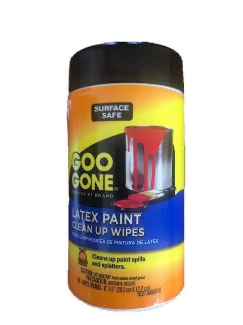 New Goo Gone Latex Paint Clean Up Wipe-50 per package