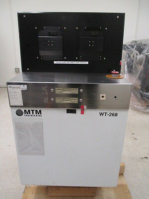MTM Engineering Engenuity Systems WT-268 Outgas Analysis Aystem w/ MKS RGA