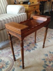 """Antique Solid Wood """"Smoker"""" Side Table $280"""