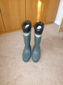 MEN'S LINED WELLINGTONS