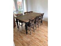 dinning room table seats 8