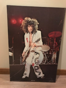 Jimmy Page laminated poster