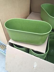 """10"""" planters, Made from Natural Bamboo, approx 150 available"""