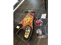 Fuzion Spinner Shark Red BRAND NEW