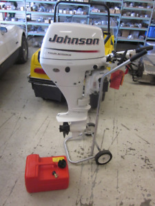 NEW Johnson 15 HP 4-stroke outboard motor for sale or swap