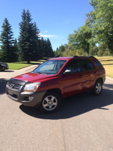 2007 Kia Sportage LX Convenience, Low KMs, two sets of tires!