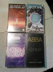 Vintage VHS Cassettes.