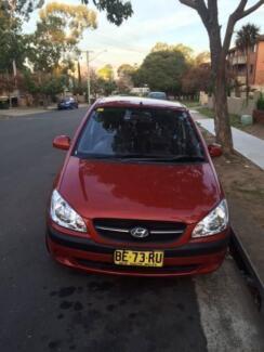 2010 Hyundai Getz Hatchback Guildford Parramatta Area Preview
