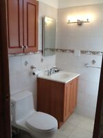 Awesome 2-3 bedrooms new bath/kitchen in Plateau -Immediate!