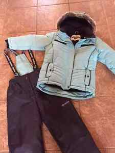 Girls Youth Size 10 Oshkosh Winter Jacket + Matching Snow Pants