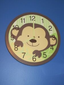 Monkey Clock & Nightlight