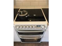 Cannon Hotpoint Electric Cooker, Ceramic Hob (white) (less than 2 years old)