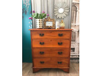 Lovely antique Edwardian chest of drawers/tallboy