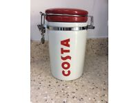 Costa coffee jars