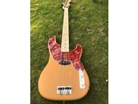 Bass Guitar Precision '54 Butterscotch Blonde Vintage finish Maple neck Fender/Hipshot Parts